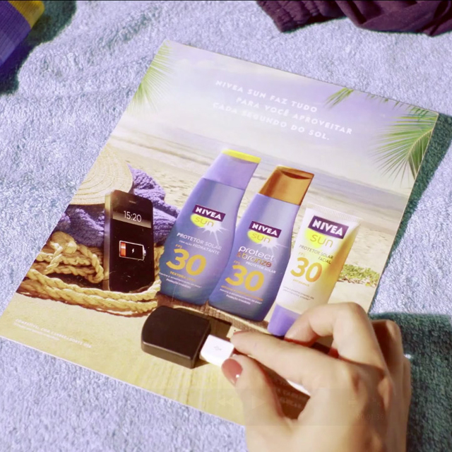 Illustration de Nivea Sun
