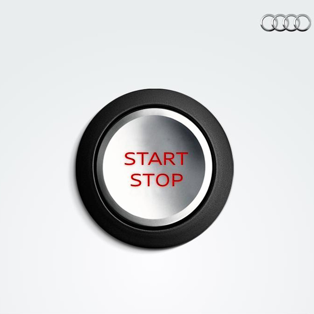 Illustration de Audi start/stop