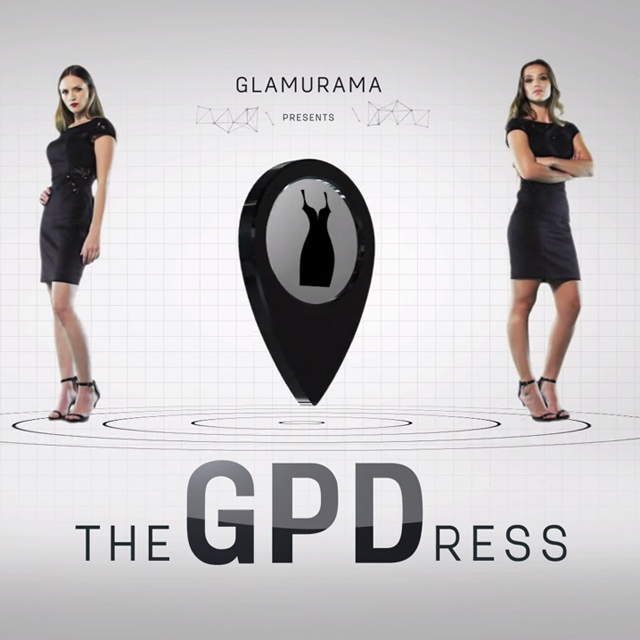 Illustration de Glamurama The GPDress